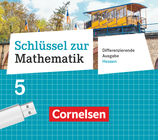 Schlüssel zur Mathematik - Unterrichtsmanager Plus auf USB-Stick - 5. Schuljahr