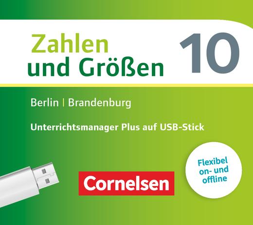 Zahlen und Größen - Unterrichtsmanager Plus auf USB-Stick - 10. Schuljahr