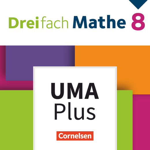 Dreifach Mathe - Unterrichtsmanager Plus - mit Download für Offline-Nutzung - 8. Schuljahr