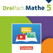 Dreifach Mathe - BuchBlicker-App - 5. Schuljahr