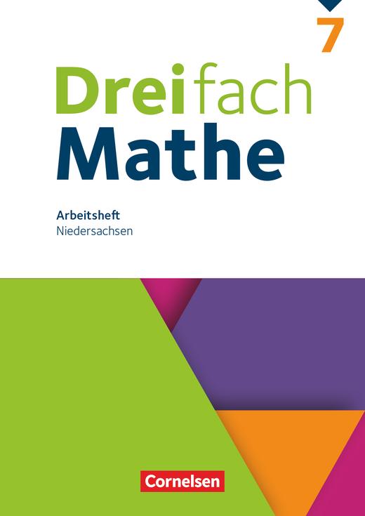 Dreifach Mathe - Arbeitsheft mit Lösungen - 7. Schuljahr