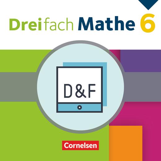 Dreifach Mathe - Diagnose und Fördern online - 6. Schuljahr