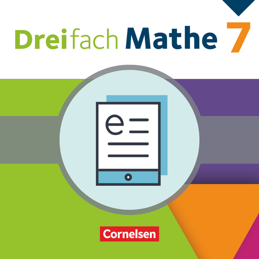 Dreifach Mathe - Schülerbuch als E-Book - 7. Schuljahr
