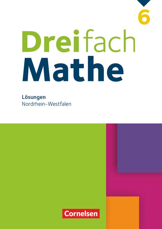 Dreifach Mathe - Lösungen zum Schülerbuch - 6. Schuljahr