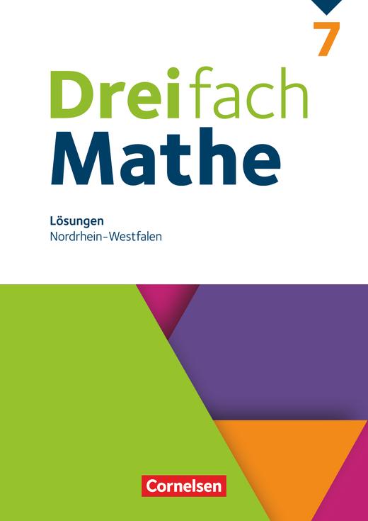 Dreifach Mathe - Lösungen zum Schülerbuch - 7. Schuljahr
