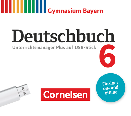 Deutschbuch Gymnasium - Unterrichtsmanager Plus auf USB-Stick - 6. Jahrgangsstufe