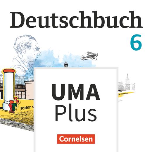 Deutschbuch Gymnasium - Unterrichtsmanager Plus - mit Download für Offline-Nutzung - 6. Schuljahr