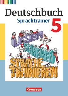Deutschbuch - Sprachtrainer - Arbeitsheft mit Lösungen - 5. Schuljahr