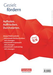 Gezielt fördern - Thematische Arbeitshefte - 5./6. Schuljahr