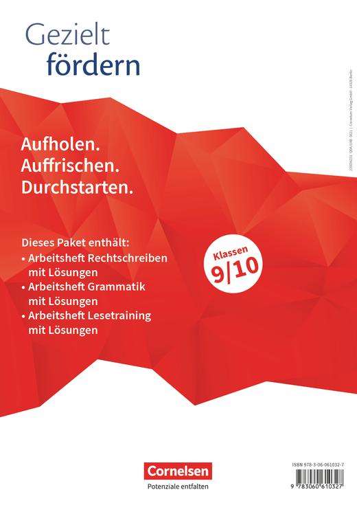 Gezielt fördern - Thematische Arbeitshefte - 9./10. Schuljahr