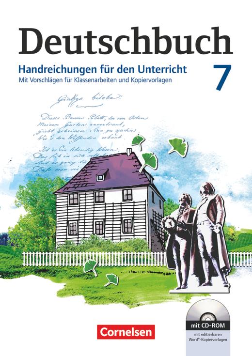 Deutschbuch Gymnasium - Handreichungen für den Unterricht, Kopiervorlagen und CD-ROM - 7. Schuljahr