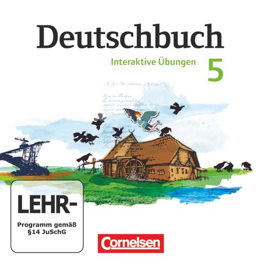 Deutschbuch Gymnasium - Übungs-CD-ROM zum Arbeitsheft - 5. Schuljahr
