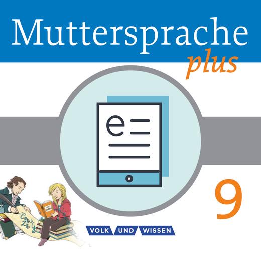 Muttersprache plus - Schülerbuch als E-Book - 9. Schuljahr