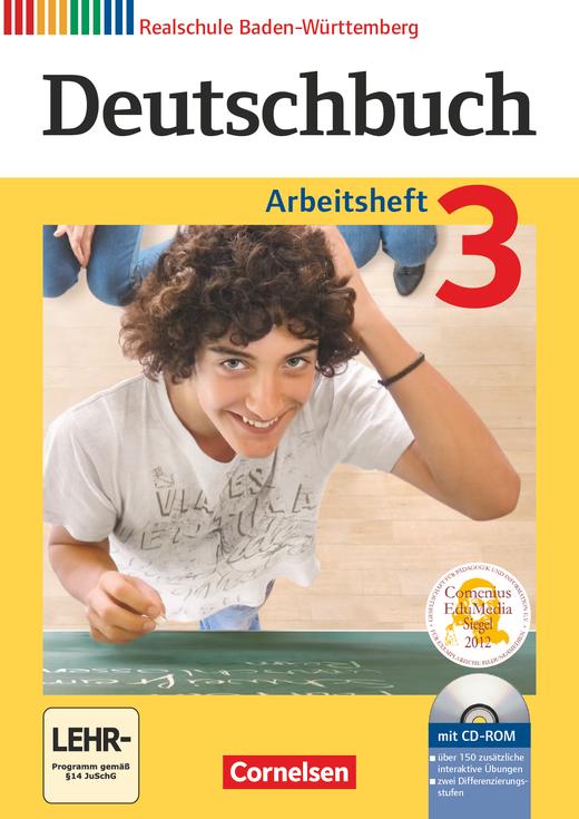 Deutschbuch - Arbeitsheft mit Lösungen und Übungs-CD-ROM - Band 3: 7. Schuljahr