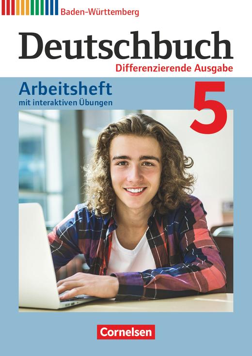 Deutschbuch - Arbeitsheft mit interaktiven Übungen auf scook.de - Band 5: 9. Schuljahr