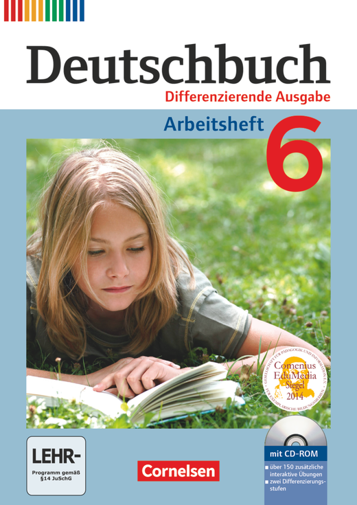 Deutschbuch - Arbeitsheft mit Lösungen und Übungs-CD-ROM - 6. Schuljahr