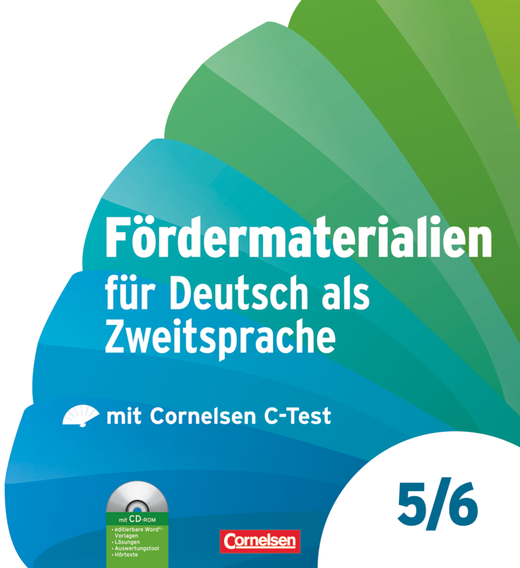 Fördermaterialien für Deutsch als Zweitsprache - Kopiervorlagen mit CD-ROM im Ordner - 5./6. Schuljahr