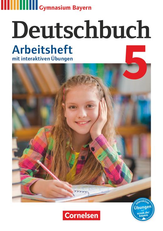 Deutschbuch Gymnasium - Arbeitsheft mit interaktiven Übungen auf scook.de - 5. Jahrgangsstufe