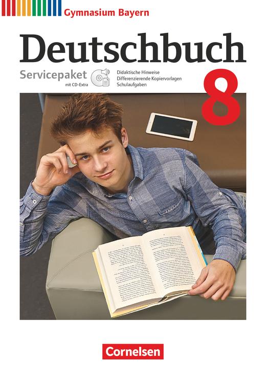 Deutschbuch Gymnasium - Servicepaket mit CD-Extra - 8. Jahrgangsstufe