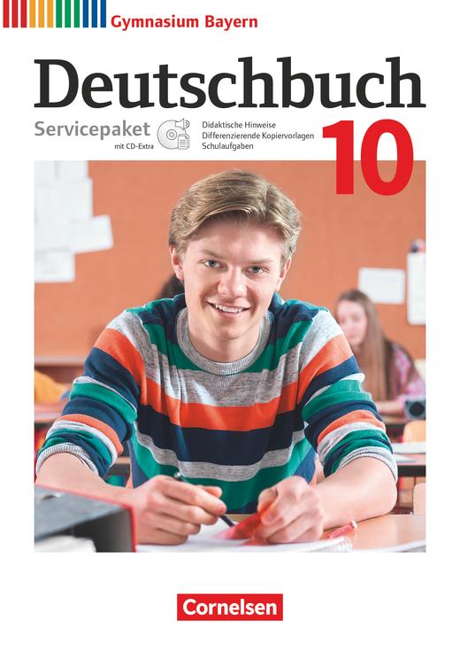 Deutschbuch Gymnasium - Servicepaket mit CD-Extra - 10. Jahrgangsstufe
