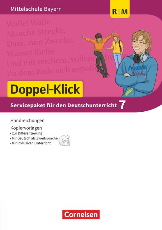 Doppel-Klick - Servicepaket - Für R- und M-Klassen - 7. Jahrgangsstufe