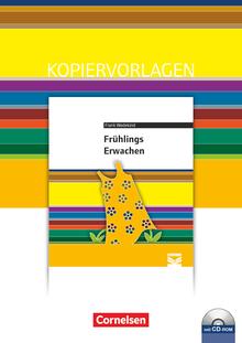 Cornelsen Literathek - Frühlings Erwachen - Empfohlen für das 10.-13. Schuljahr - Kopiervorlagen mit Lösungen und CD-ROM