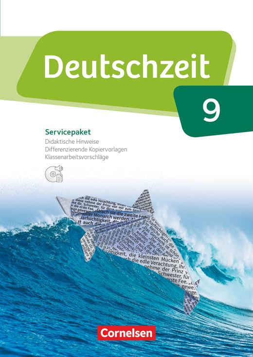 Deutschzeit - Servicepaket mit CD-ROM - 9. Schuljahr