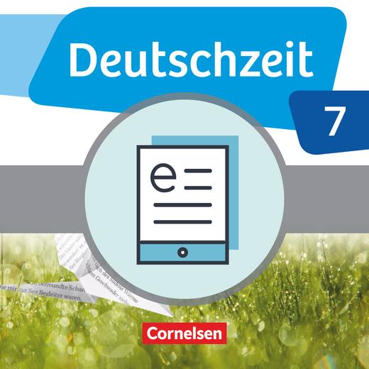 Deutschzeit - Schülerbuch als E-Book - 7. Schuljahr