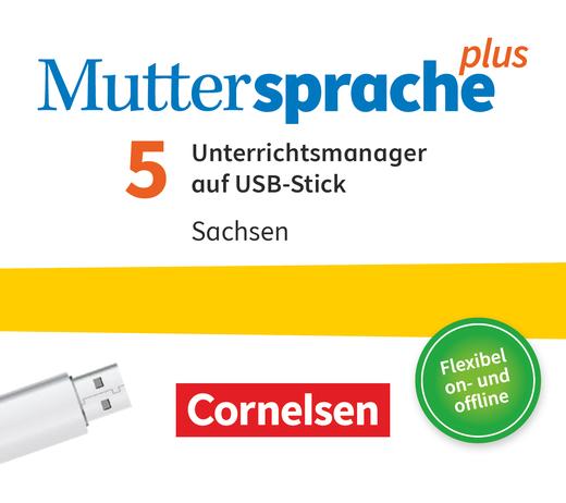 Muttersprache plus - Unterrichtsmanager Plus auf USB-Stick - 5. Schuljahr