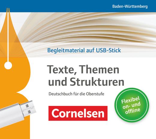 Texte, Themen und Strukturen - Unterrichtsmanager Plus auf USB-Stick
