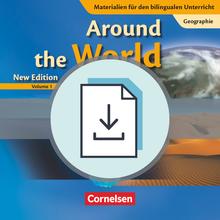 Materialien für den bilingualen Unterricht - Around the World, Volume 1 - Handreichungen für den Unterricht als Download - 7. Schuljahr