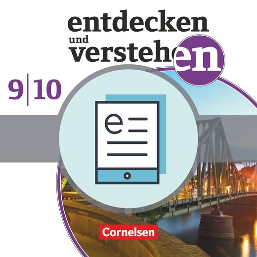 Entdecken und verstehen - Vom 20. Jahrhundert bis zur Gegenwart - Schülerbuch als E-Book - 9./10. Schuljahr