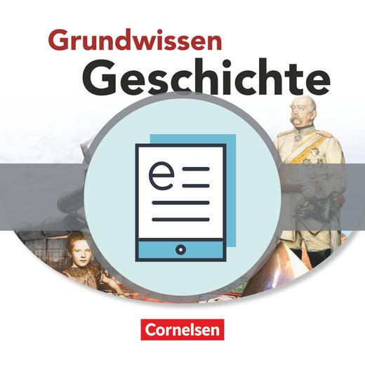 Grundwissen Geschichte - Sekundarstufe II - Schülerbuch als E-Book