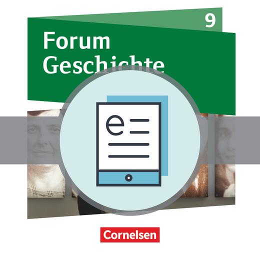 Forum Geschichte - Neue Ausgabe - Von 1933 bis zum Ende des Kalten Krieges - Schülerbuch als E-Book - 9. Schuljahr