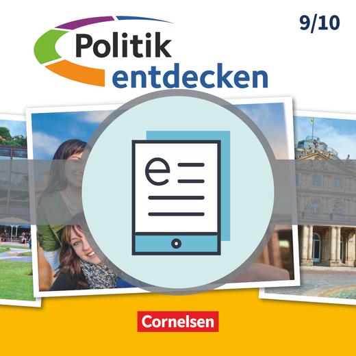 Politik entdecken - Schülerbuch als E-Book - Band 2: 9./10. Schuljahr