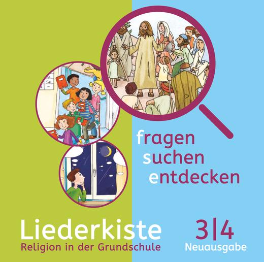 Fragen-suchen-entdecken - Liederkiste - Audio-CDs - Band 3/4