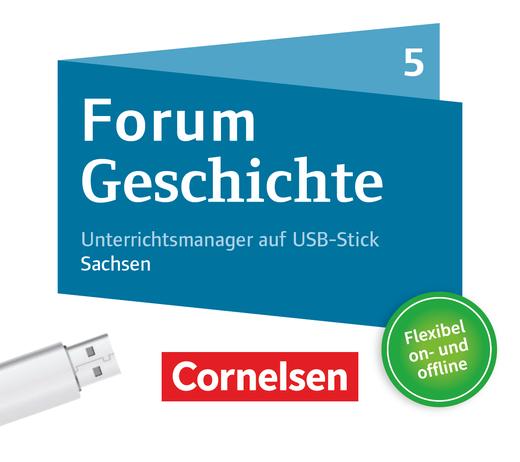 Forum Geschichte - Neue Ausgabe - Unterrichtsmanager Plus auf USB-Stick - 5. Schuljahr