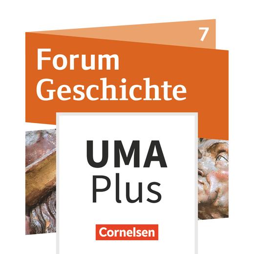 Forum Geschichte - Neue Ausgabe - Unterrichtsmanager Plus - mit Download für Offline-Nutzung - 7. Jahrgangsstufe