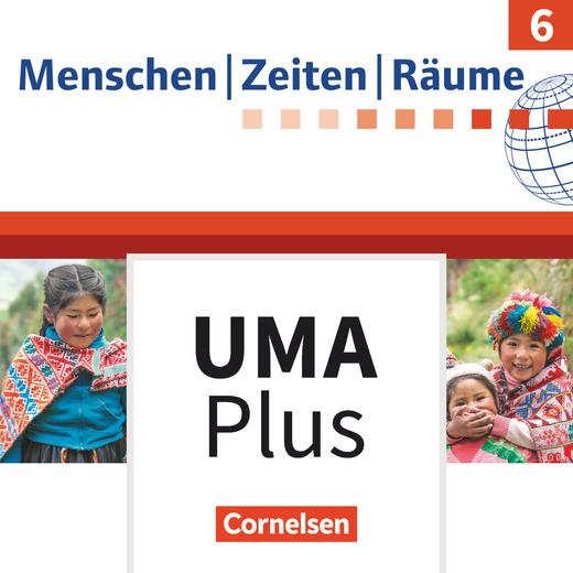 Menschen-Zeiten-Räume - Unterrichtsmanager Plus - mit Download für Offline-Nutzung - 6. Jahrgangsstufe
