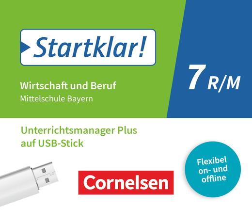 Startklar! - Unterrichtsmanager Plus auf USB-Stick - 7. Jahrgangsstufe