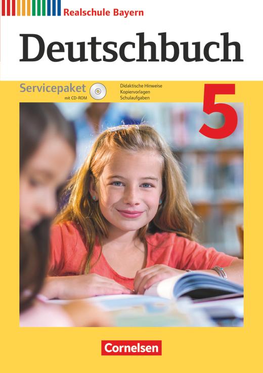 Deutschbuch - Servicepaket mit CD-ROM - 5. Jahrgangsstufe