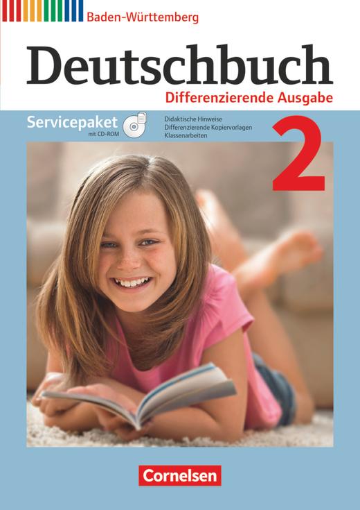 Deutschbuch - Servicepaket mit CD-ROM - Band 2: 6. Schuljahr