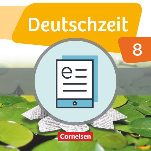 Deutschzeit - Schülerbuch als E-Book - 8. Schuljahr