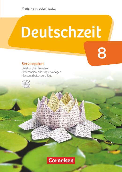 Deutschzeit - Servicepaket mit CD-ROM - 8. Schuljahr
