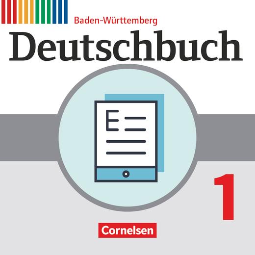 Deutschbuch Gymnasium - Schülerbuch als E-Book - Band 1: 5. Schuljahr
