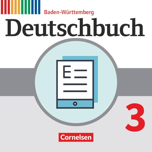 Deutschbuch Gymnasium - Schülerbuch als E-Book - Band 3: 7. Schuljahr