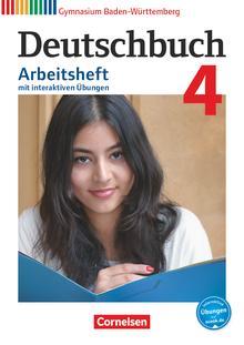 Deutschbuch Gymnasium - Arbeitsheft mit interaktiven Übungen auf scook.de - Band 4: 8. Schuljahr