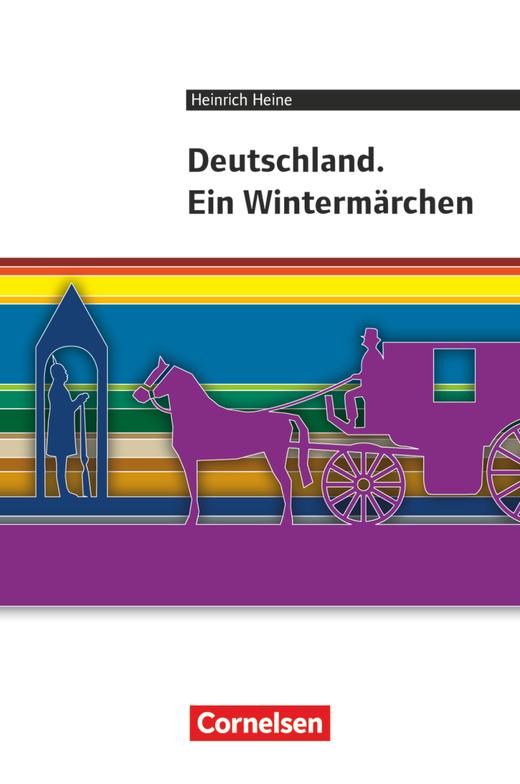 Cornelsen Literathek - Deutschland. Ein Wintermärchen - Empfohlen für das 10.-13. Schuljahr - Textausgabe