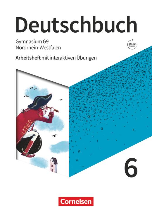 Deutschbuch Gymnasium - Arbeitsheft mit interaktiven Übungen auf scook.de - 6. Schuljahr