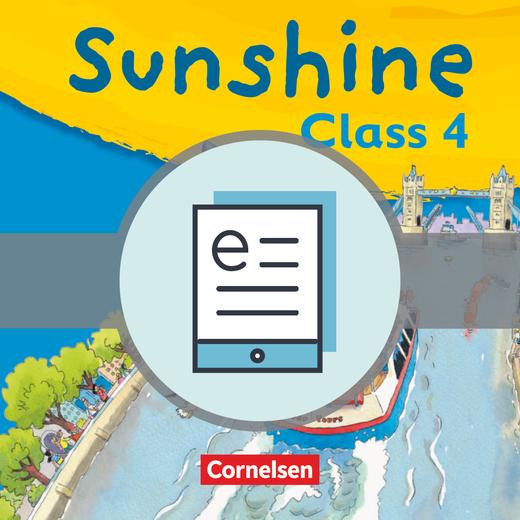 Sunshine - Pupil's Book als E-Book - Band 2: 4. Schuljahr